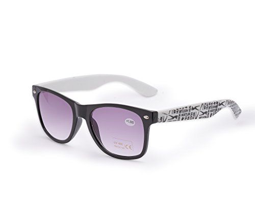 para lectores Unisex 1 carey hombre 4sold 4sold sol UV400 sol UV gafas de nbsp;fuerza Mujer lectura nbsp;marrón 5 de Hustler Reader gafas Estilo de marca dxqZF7zx