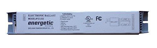 Energetic YZ-232 Electronic rapid start ballast for 2 F32T8 bulbs - Rapid Start Electronic Ballast