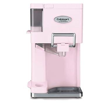 Cuisinart Mix It In ICE-45PK 1.5 Quart Soft Serve Ice Cream Maker (Pink)