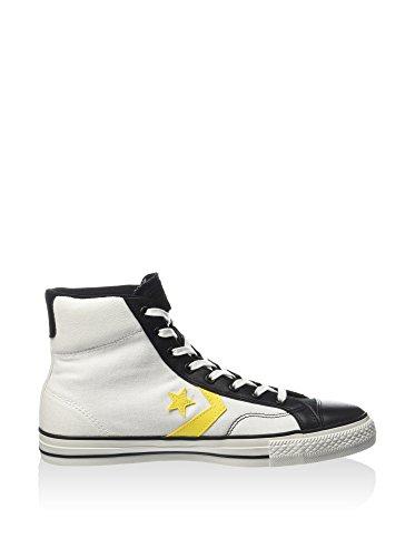 Canvas Alta Star Converse leath nero Player 39 Hi Ev Eu Sneaker Bianco Z5Erq6rY