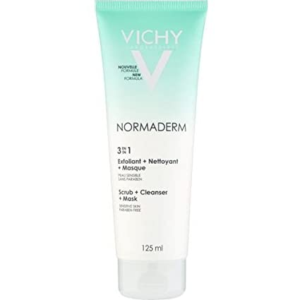 Vichy Normaderm 3 in 1 Cleanser, 125ml