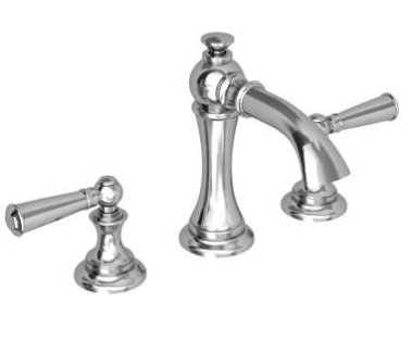 Newport Brass 2450 26 Sutton Widespread Lavatory Faucet With Lever