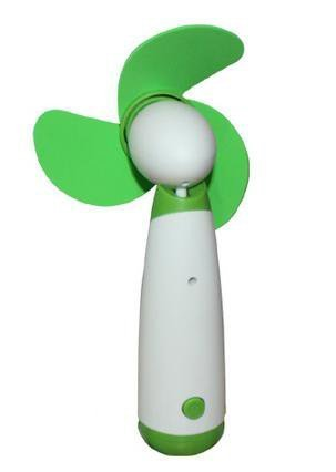 Redlution Mini USB Handventilator Tragbarer ventilator Batterie Betrieben Elektrischer Ventilator Cooling L/üfter f/ür Hei/ße Sommerau/ßen Reisen