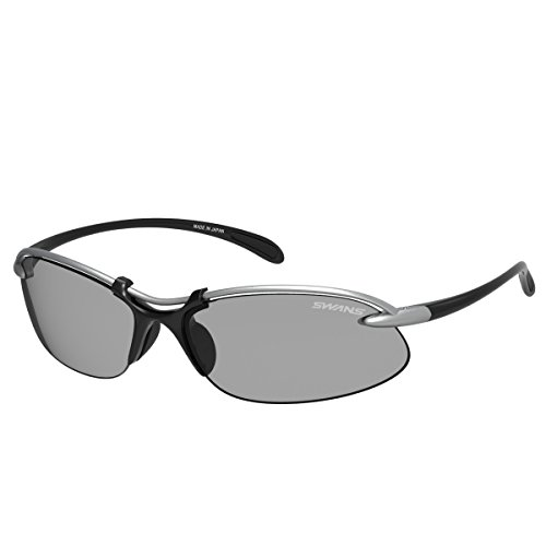 Swans Sunglasses Airless Wave SA-501 MTSIL [Made In - D&g Price Sunglasses