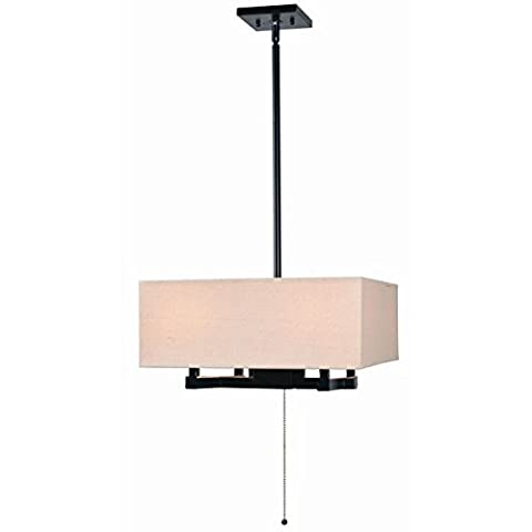 Crate 4 Light Chandelier - Hagerty Table