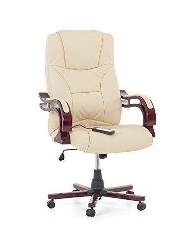Poltrone Da Studio In Pelle.Sedia Da Ufficio In Pelle Con Massaggio Poltrona Ufficio Di