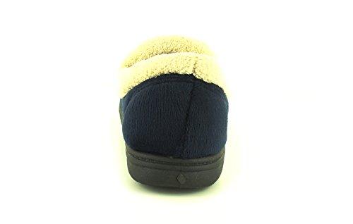 Strollers Neu Damen/Damen Marineblau Edwina Waschbar Hausschuhe Marineblau - UK Größen 3-8