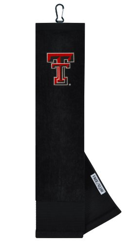 Texas Tech Red Raiders Face/Club Embroidered Towel - Raiders Embroidered Tri Fold