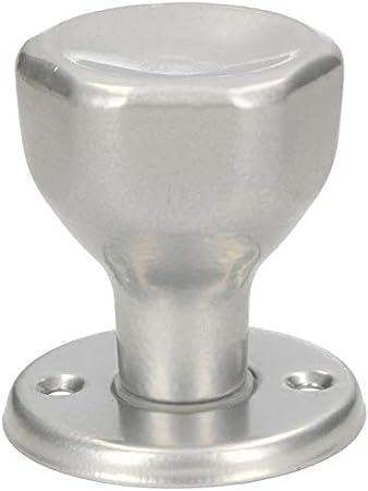 Pomo giratorio para puerta 5 colores pomo giratorio pomo acero lacado con tornillos de montaje KOTARBAU