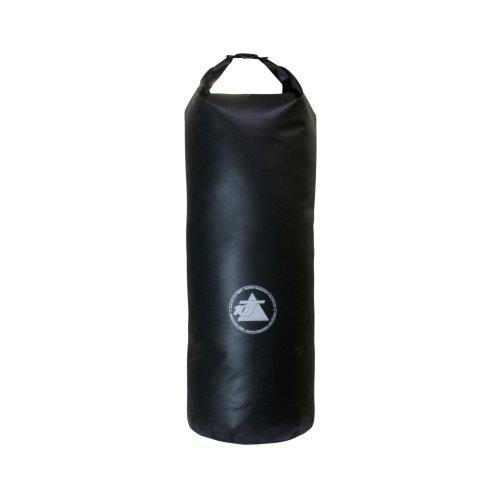 10T WPS 60 - Packsack 60L wasserdicht mit Tragegriff und Schultergurt schwarz 30x30x80cm