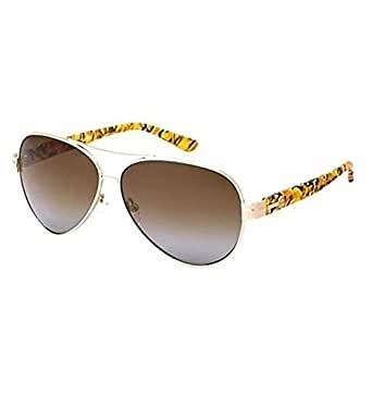 Tory burch ty 6031 sunglasses gold brown for Tory burch jewelry amazon