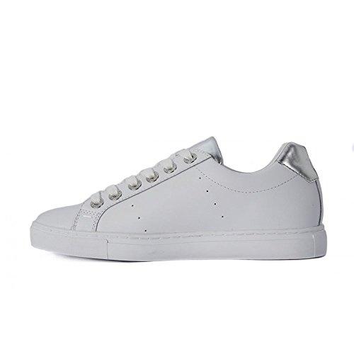 Trussardi 79s527 Femme Jeans Argent Sneakers r14rHq57w