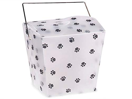 Gift Pail 12 Count - Large - Paw Print
