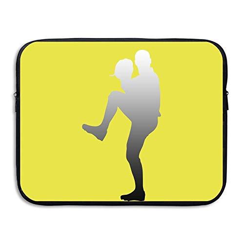 Baseball Briefcase Leather (CHJOO Briefcase Laptop Messenger Bag Baseball Sport Waterproof 13-15in IPad MacBook Surfacebook)