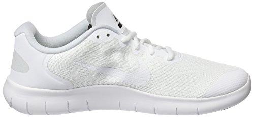 GS White Platinum Multicolore Chaussures Course Pure Black de RN 2017 Nike Garçon White Free pqxwtOnz