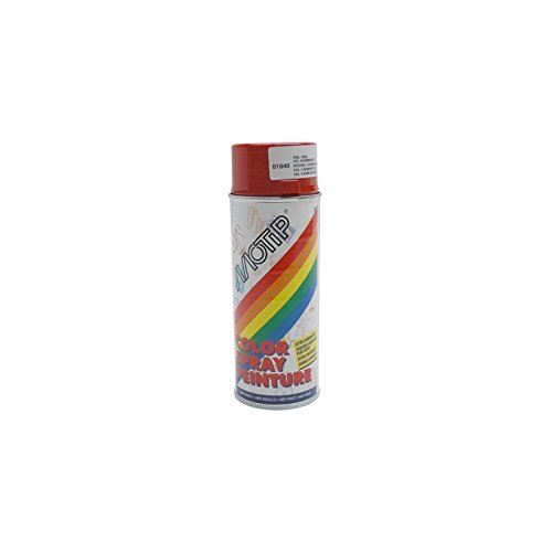 MOTIP - BOMBE DE PEINTURE MOTIP GLYCERO BRILLANT ROUGE CARMIN spray 400ml (01640)