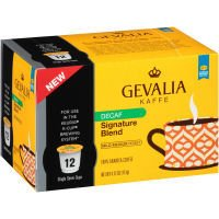 Gevalia Signature Blend DECAF (12-Ct) (Pack of 6) by Gevalia Kaffe