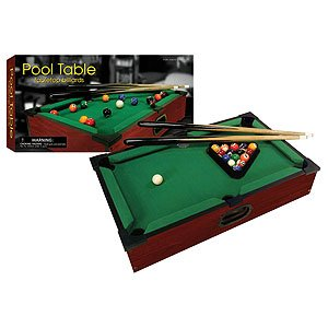 New Club Fun Tabletop Executive Pool Table W/ Numbered Balls 2 Cue Sticks by Westminster