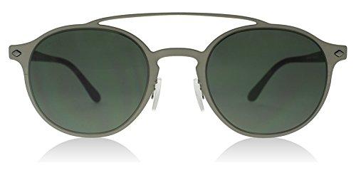 Giorgio Armani Mens Sunglasses (AR6041) Gunmetal Matte/Grey Metal - Non-Polarized - - Armani Glass Sun
