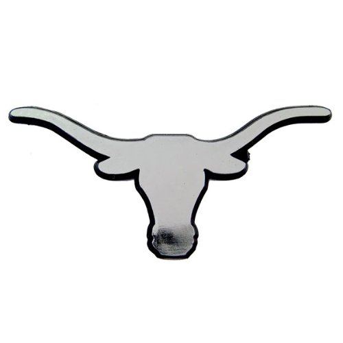 NCAA Texas Longhorns Chrome Auto Emblem, Once Size, Multi