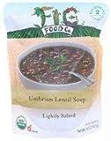 Fig Food Organic Umbrian Lentil Soup Lightly Salted, 14.5 Ounce
