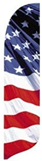 product image for 2' x 11' Star & Stripes Waving Quill Feather Flag Kit