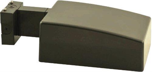 RAB AJH50XQTPCT AJ Area Light 50W-Metal Halide QT Wall Mount 120V with Twistlock Photocell, Bronze