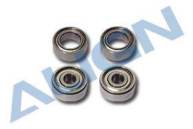 - Bearing 4x7x2.5/3x10x4mm, MR74ZZ/623ZZ (2ea): 600