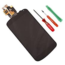 LG Google Nexus 4 E960 LCD Display With Touch Screen Digitizer Assembly Repair Replacement Part(Black)