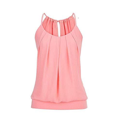 - 4 Pack Active Basic Women's Basic Tank Tops Pink
