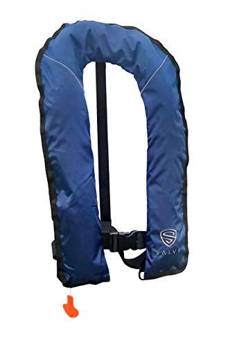 SALVS Manual Inflatable Life Jacket for Adults | PFD for Kayak, Fishing, Sailing | Life Vest for Men & Women | Floatation Swim Vest - Inflatable Pfd Vest