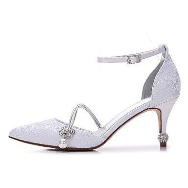 Dedo Purpurina Fiesta Puntiagudo Encaje boda mujer Primavera 7 regalo Zapatos para uk4 Boda eu37 madre y de Verano Zapatos y El Mujer 5 Satén Poroso para 5 Pedrería Confort us6 Pajarita mejor 5 Wa8nTtwR