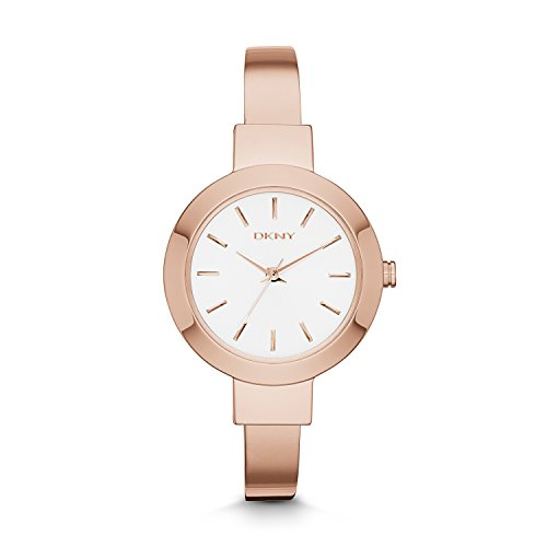 DKNY Women's 'Stanhope' Quartz Stainless Steel Casual Watch, Color:Rose Gold-Toned (Model: NY2347)