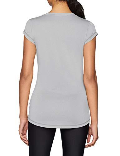 Active Femme shirt Puma T Light Heather T Gris 81dnqwxg