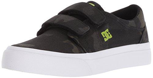 DC Boys' Trase V TX SE Skate Shoe CAMO 5 M US Big Kid (Kids Shoes Dc)