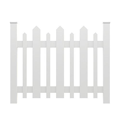 YardSmart® 73004182 Picket Accent Fence, White by YardSmart®