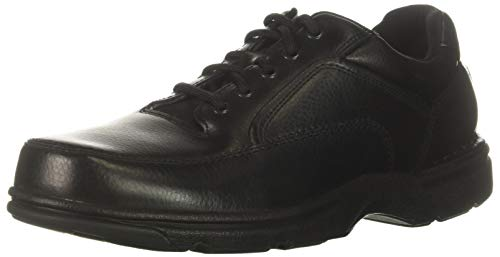 Rockport Men's Eureka Walking Shoe, Black, 9 2E US