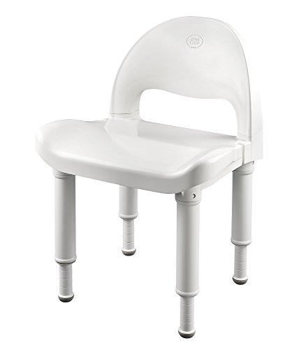 Moen DN7064 Bath Safety Shower Chair, Glacier by Moen