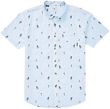 BILLABONG Hombre M503TBSM Manga Corta Camisa de Botones: Amazon.es ...