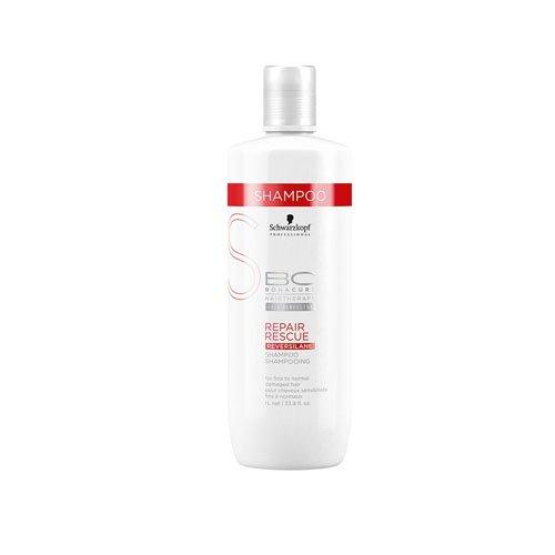(Schwarzkopf Schwarzkopf Bc Repair Rescue Reversilane Shampoo (for Fine To Normal Damaged Hair), 1000 Ml/33.8 Ounce, 33.8 Ounce)