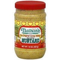 Nathans Mustard Coney Island