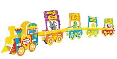 Mindware Matching Train - Train Puzzle & Rhymes Card Pack (Rhymes Pack)
