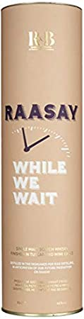 R&B Raasay While We Wait Single Malt Scotch Whisky - 700 ml