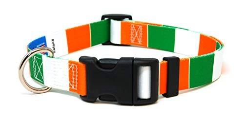 PatriaPet Ireland Irish Flag Cat Collar