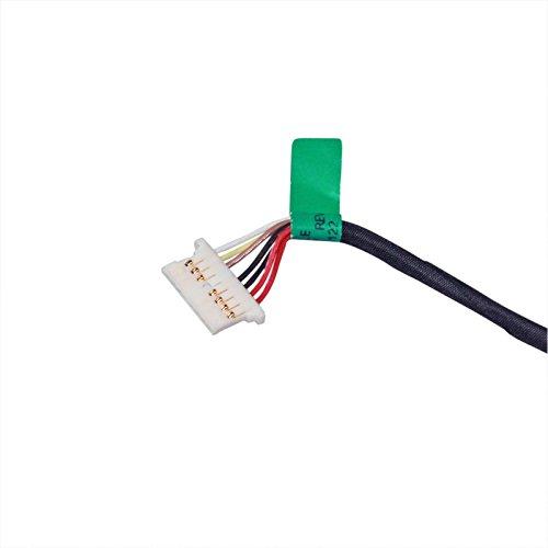 DC Power Jack Harness Cable for HP Pavilion 15-af131dx 15-af135nr 15-af139ca 17-u275cl 17-u292cl 17-u292cl 17-u294cl 17-u296cl by GinTai (Image #3)