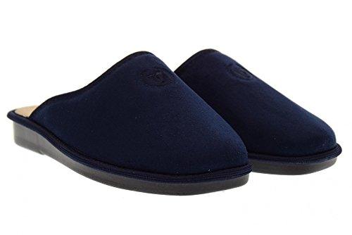 Hausschuhe Blau Blue 37801 Valleverde Man 7AxzqR5