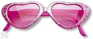 Gafas de sol chicas corazón rosa