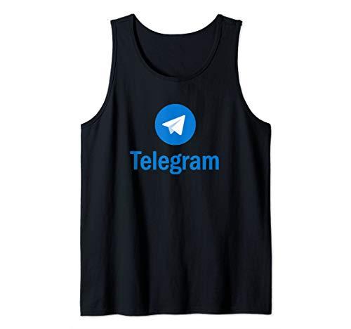 Telegram Tank Top