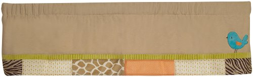 Carter's Wildlife Valance, Beige (Discontinued by -