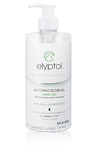 Natural Antimicrobial Hand Sanitizer Gel by Elyptol, Eucalyptus Oil | 16 Ounce Per (Antimicrobial Hand Sanitizer)